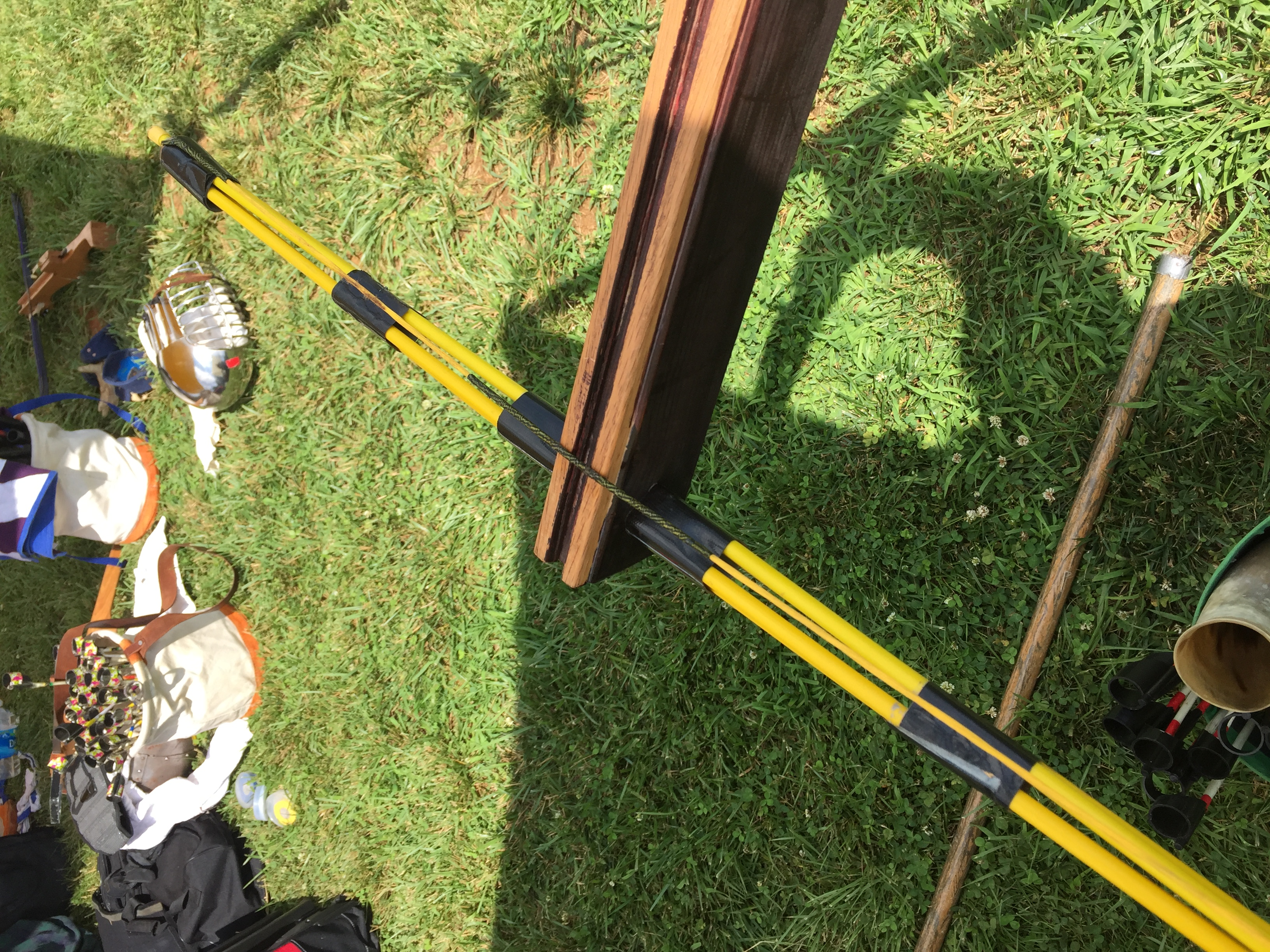 A different method of crossbow construction